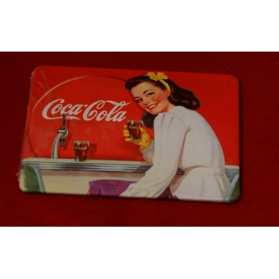 Magnes Coca Cola- Retro Pin Up Girl  1