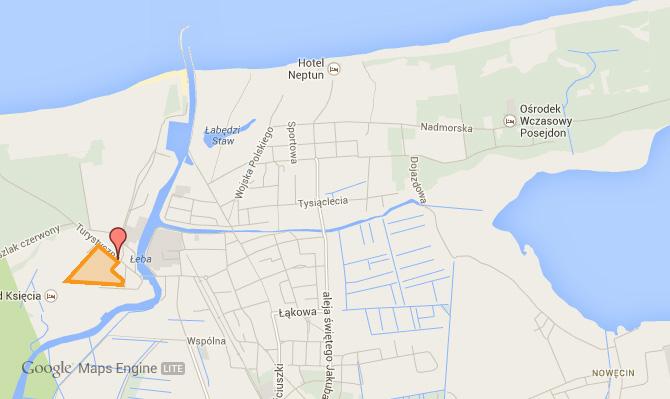 leba2015 mapa